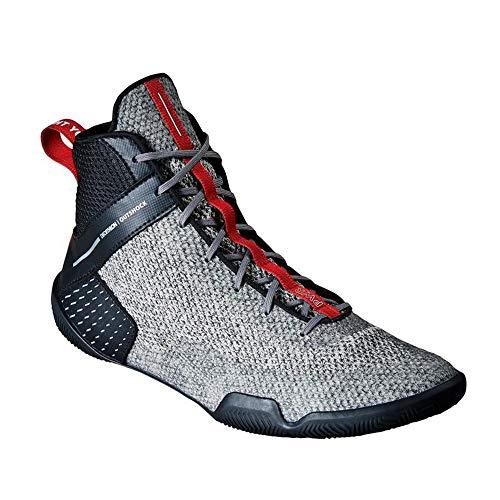 Willsky Botas De Boxeo, Zapatos De Entrenamiento De Lucha Combate Unisex Adultos Profesión Juvenil De Artes Marciales Calzado Ligero Y Transpirable,42