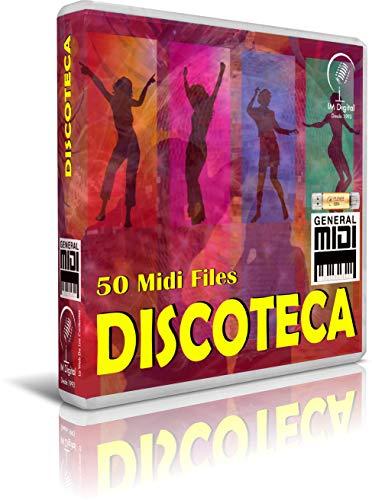 Discoteca - Pendrive USB OTG para Teclados Midi, PC, Móvil, Tablet,...