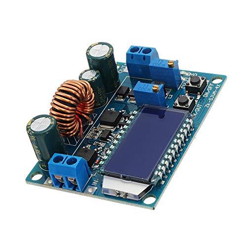 MUKUAI56 Pantalla LCD Digital Buck-Boost Fuente de Alimentación Módulo Junta Voltaje constante Corriente Cristal Voltímetro Amperímetro Ajustable DIY