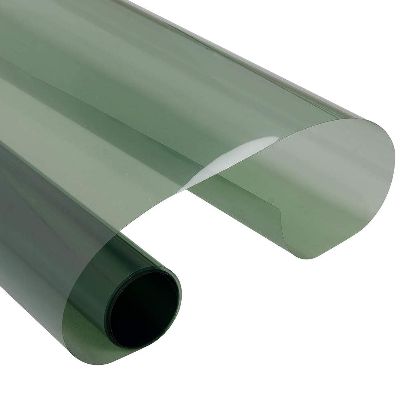 Mr.M nanoシリー カーウインドウフィルム 紫外線100%カット 車 フィルム 窓 遮熱 断熱 遮光 フロントガラス フロント サイド 可視光線透過率70% ライトグリーン