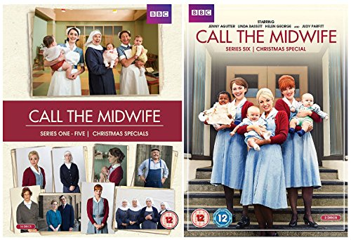 Call the Midwife Series 1-6 Complete Collecton of the Award-winning BBC drama + Christmas Specials + Behind-the-scenes features + Interviews with the cast and crew