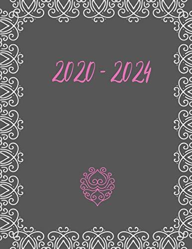 2020 - 2024: 5 jahres kalender 2020 * Wochenplaner * Taschenkalender * Terminkalender von Januar 2020 bis Dezember 2024
