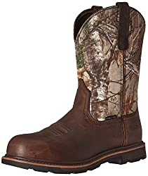 Ariat Work Men's Groundbreaker Pull-on Steel Toe Work Boot