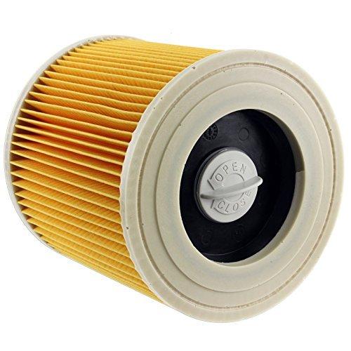 Spares2go Cartridge Filter Voor Karcher WD3310 WD3320 WD3370 Natte & Droge Stofzuiger