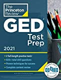 Princeton Review GED Test Prep, 2021: Practice Tests + Review & Techniques +