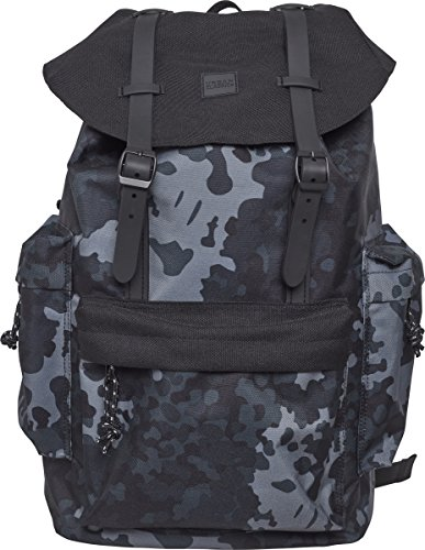 Urban Classics Backpack with Multibags Rucksack, 42 cm, 14, 5 L, Dark Camo