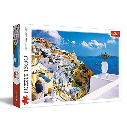Trefl- Puzzle Santorini Greece, TR26119
