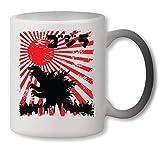 KRISSY Godzilla Japan Poster Heat Mug Color Changing Cup