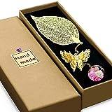 Aimfar Gift Bookmarks for Women,3D Butterfly...