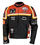 HDMM - Disfraz de Mickey Rourke elegante para motociclista,