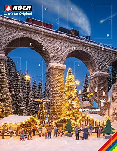 """NOCH 65590 Bastel-Adventskalender """"Weihnachtsmarkt"""""""