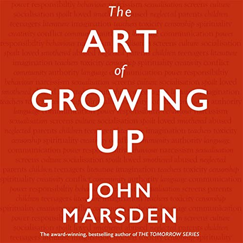 The Art of Growing Up audiobook cover art