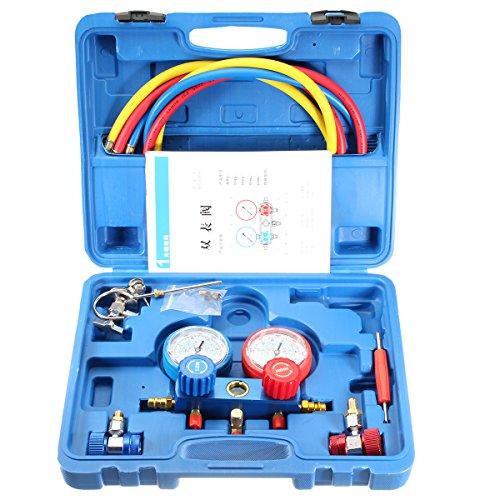 MJJEsports 0-500PSI Airconditioning Koelmiddel Fluor Tafelgaas Diagnostische Test Tool