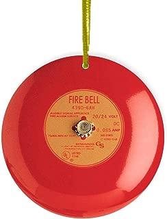 Sam Sandor - Fire Alarm - Round Ceramic Ornament with String