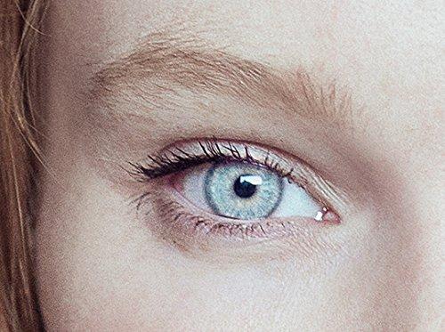 Graue Kontaktlinsen | Hellgrau | Perlgrau | natürlich farbige Kontaktlinsen | Farbige Kontaktlinsen ohne Stärke | MOOD-LENTILLES (französische Marke)