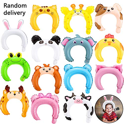 BESTZY Balloon Hair Band 50 Piezas Diadema Orejas Animales