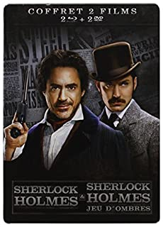Sherlock Holmes 2 : Jeu d'ombres [Pack Collector boîtier SteelBook] (B007GE87C6) | Amazon price tracker / tracking, Amazon price history charts, Amazon price watches, Amazon price drop alerts