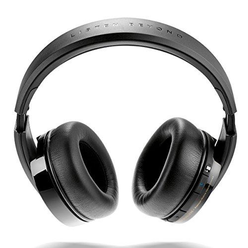 Focal Listen Wireless Noir Circumaural Bandeau Casque - Casques (Circum-aural, Bandeau Fil &sans Fil, 15-22000 Hz, 122 DB, Noir)