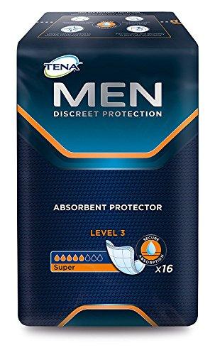 Tena Men Super Level 3, Packung mit 16 Protektoren