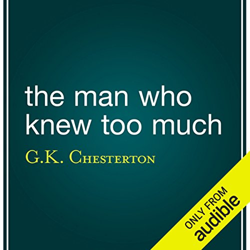 The Man Who Knew Too Much audiobook cover art