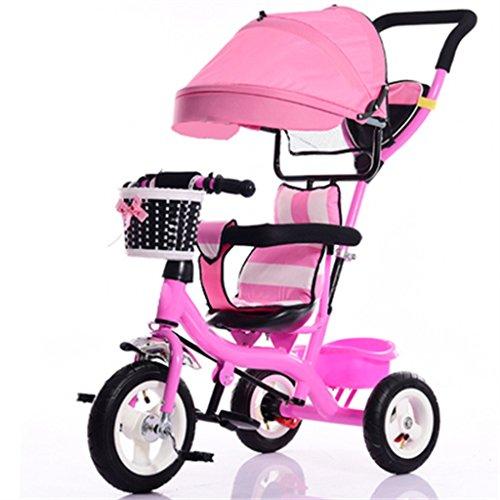 BBZZZ Cochecito de bebé Niños Pequeño Triciclo de Interio