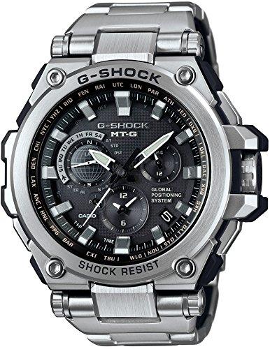 [カシオ] 腕時計 ジーショック MT-G GPSハイブリッド電波ソーラー MTG-G1000D-1AJF シルバー