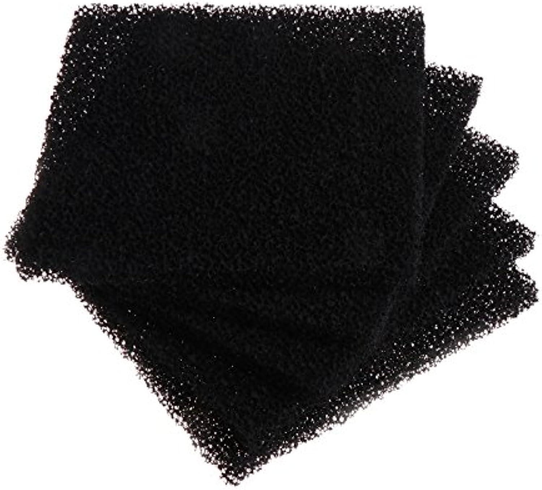 5Pcs Bag Universal Black Activated Carbon Foam Sponge Air Filter