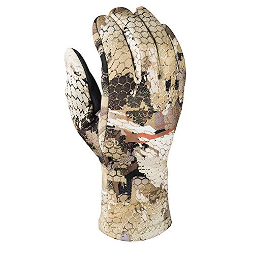 SITKA Gear Gradient Stretch Fleece Camouflage Hunting Gloves, Optifade Waterfowl, X-Large (90185-WL-XL)