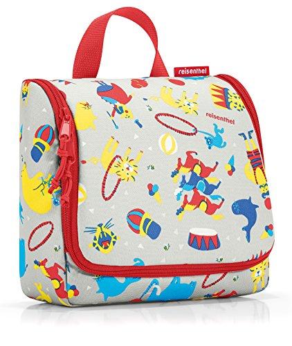 reisenthel toiletbag kids circus red Maße: 23 x 20 x 10 cm / Maße: 23 x 55 x 8,5 cm expanded / Volumen: 3 l