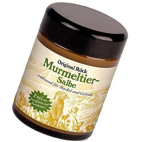 Original Röck Murmeltier-Salbe ohne Paraffinen und Parabenen, 100ml.