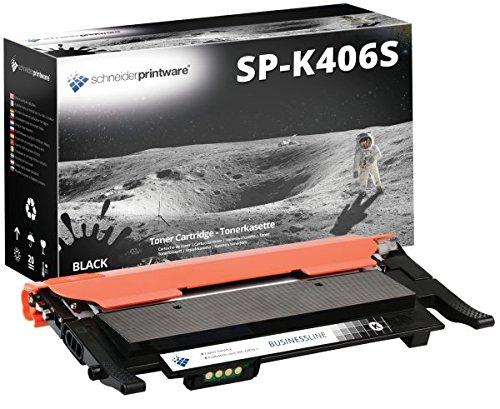 Bespaar zonder kwaliteitsverlies met de HIGHPOWER TONER met 50% meer PRINTING PERFORMANCE 2.250 Pagina's CLT-K406S Zwart vervangt Samsung Samsung CLP-360 CLP360 voor Samsung Xpress C460W/TEG, Xpress C410W, CLP-365/SEE CLP-365, CLX-3305FN/TEG - CLP360 C360N CLP365 CLP365 W CLX3300 CLX3305 CLX3305FN CLX3305FW CLX3305W samsung xpress C410W C460FW