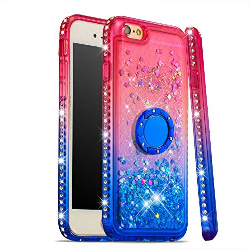 Lowest Prices! NEXCURIO Glitter Silicone Case for iPhone 6S / iPhone 6, Shockproof Anti-Scratch Shoc...