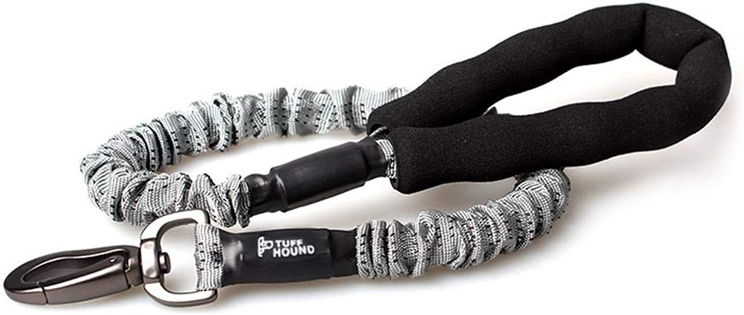 AUSWIEI Dog Chain Dog Leashes Chest Straps Hyena Rope Pet Supplies (color   Grey, Size   75105cm)