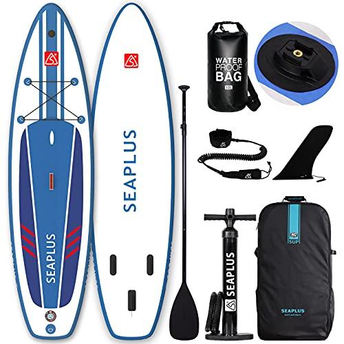 SUPボード sup インフレータブルサーフボード ソフトボード カメラスタンド付き フィットネスやフィッシン...