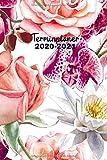 Terminplaner 2020 2021 mit Blumen: Kalender, Wochenplaner  und Terminkalender 2020-2021   Naturkalender , Monatsplaner und Familienplaner   Januar ... Dezember 2021   2 Jahre Terminkalender Din A5