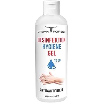 Hygiene Gel für Hand to-Go/Hände für unterwegs & zuhause 99,9% URBAN Forest (1x 150ml)