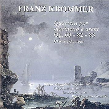 Krommer: Quartetti per clarinetto e archi, Op. 69 - 82 - 83 (Clarinet Quartets)