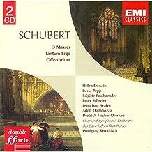 Schubert: 3 Masses/Tantum Ergo/Offertorium