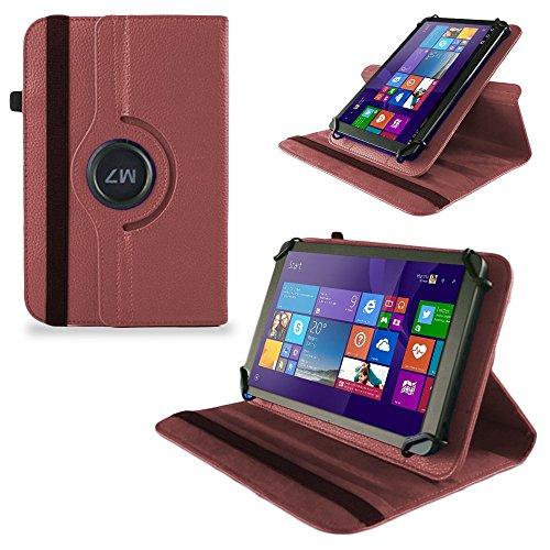 UC-Express Tasche Hülle Cover für Odys Wintab GEN 8 Hülle Tablet Schutzhülle Bag, Farben:Braun