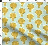 Heißluftballon, Kinderzimmer, Luftballon, Gelb, Senfgelb,