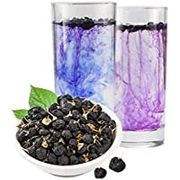 Té de hierbas chino Secado Lycii Wolfberry Wild Black Goji Berry Tea Nuevo té perfumado Té verde Cuidado de la salud Flores Té Té verde saludable de primer grado (250)