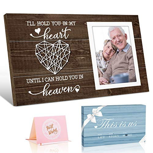 Memorial Picture Frame Bereavement Gifts - I'll Hold You in My...
