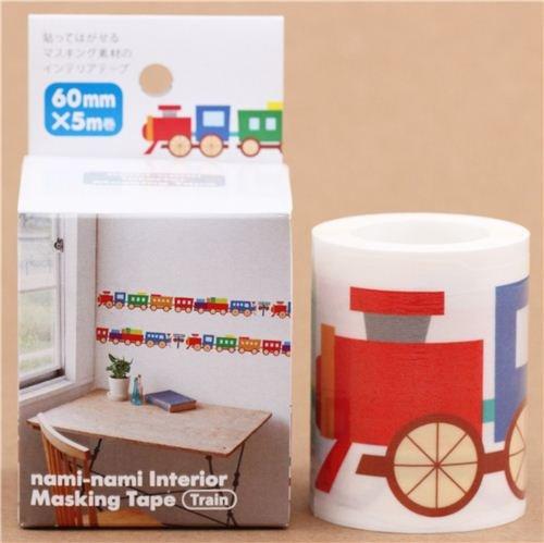 breites Spielzeug Lok Zug Masking Tape Wand Klebeband aus Japan