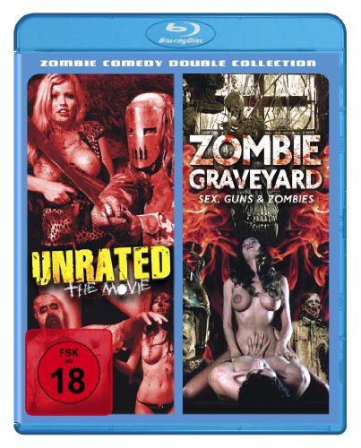 Unrated & Zombie Graveyard - Zombie Comedy Double Collection [Blu-ray]