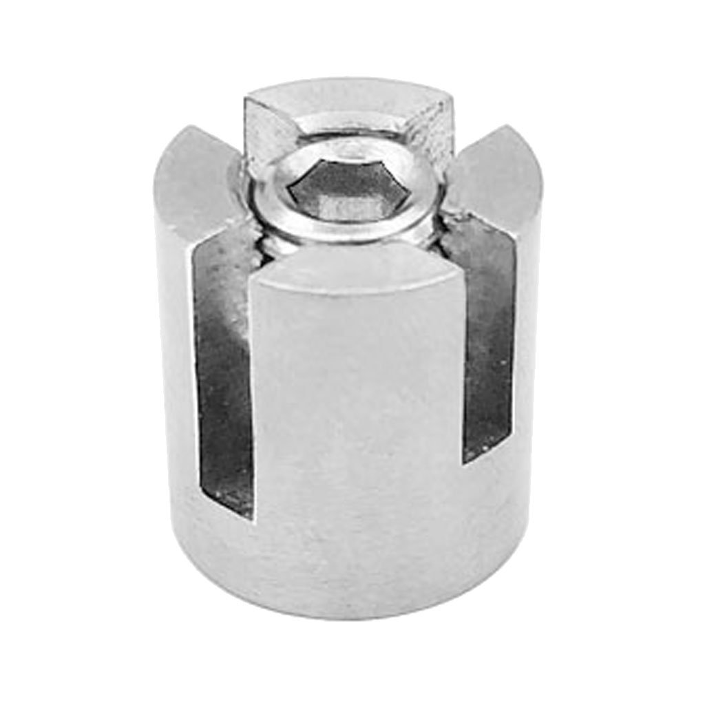 Wire Rope 4mm Rope Clamp Wall Cross Clip New Brand Stainless Steel Wire Rope HO3