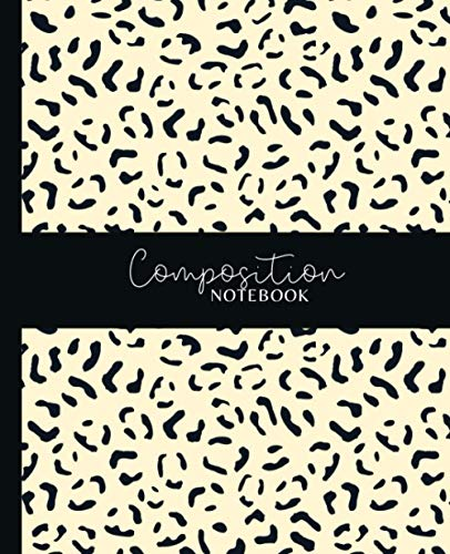 Composition Notebook: Cheetah Camouflage Animal Print Wide Ruled Lined Paper Notebook Journal | Workbook for Girls Teens Kids Students Adults Teachers ... Middle High School Writing Notes Journal