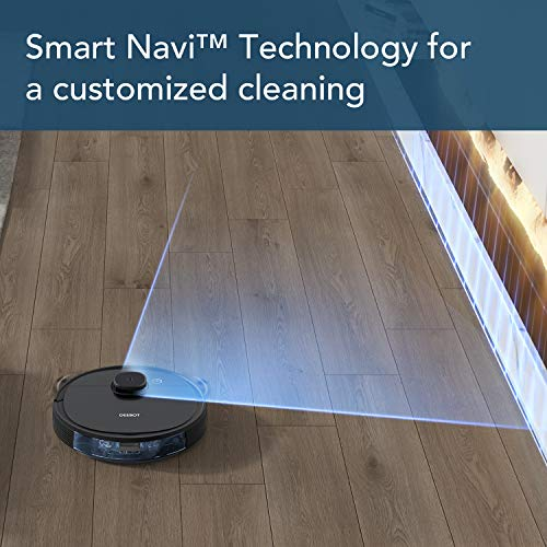 ECOVACS DEEBOT OZMO 950 2-in-1 Robot Vacuum Cleaner & Mop with Smart Navi 3.0 Technology, Up to 3 Hours of Runtime, Multi-Floor Mapping, 3 Levels of Suction Power, Hard Floors & Carpets, and Pet Hair