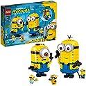 LEGO Minions Brick-Built Minions & Their Lair Minions Toy