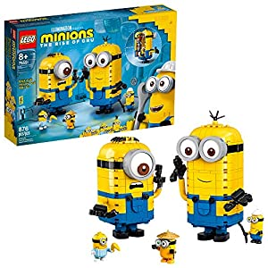LEGO Minions: Brick-Built Minions and Their Lair (75551) Building Kit for Kids, Great Birthday Present for Kids Who Love… - 51TnLREQGfL - LEGO Minions: Brick-Built Minions and Their Lair (75551) Building Kit for Kids, Great Birthday Present for Kids Who Love…