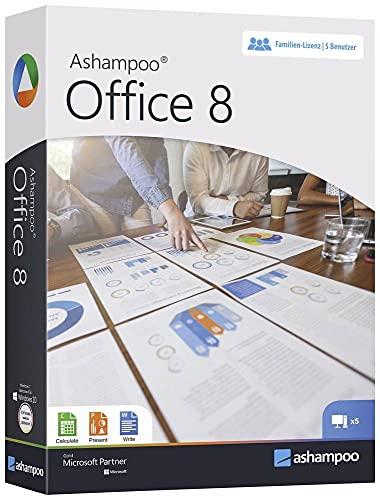 Ashampoo Office 8 Vollversion, 1 Lizenz Windows Office-Paket